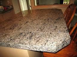 tile countertop edge options granite