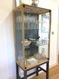 ikea display cabinet display cabinet glass door