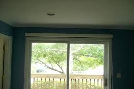 solar shades for sliding glass doors solar shades on a sliding glass door in city solar