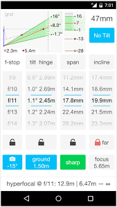 Photography Depth Of Field Chart Lumariver Depth Of Field Calculator