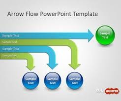 Flow Chart Powerpoint Presentation Free Arrow Flow Chart Template For Microsoft Powerpoint