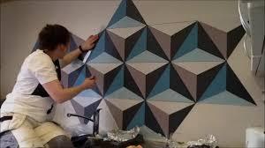 geometric wall paintPainting Geometric Wall  Remember Full HD   YouTube