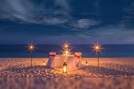 memorable candlelight dinner