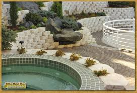 landscape installation minneapolis mn jacuzzi paver patio with custom retaining wall and
