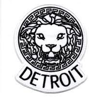 Designer Iron On Patches Sew Iron On Patches Lion Design Detroit Hustles Harder