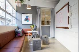 heres what airbnbs new sydney office looks like collective hub collective hub airbnb sydney