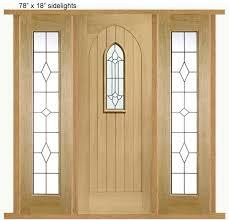 westminster external oak door with sidelight s