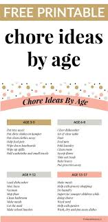 What Do Kids Learn By Doing Chores A Chore Ideas By Age