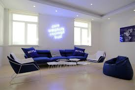 Informal Living Room The Blue Room An Informal Meeting Room At The Beiersdorf Offices