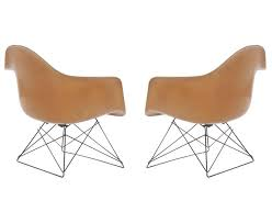 Mid Century Modern Furniture La Adorable MidCentury Modern Eames For Herman Miller 'LAR' Lounge Chairs At
