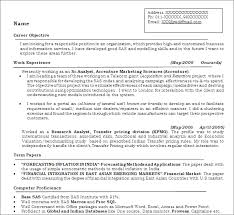 Free Resume Sample Analytics Professionals Free Resume Templates