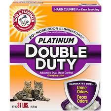 Cat Litter Comparison Chart Arm Hammer Platinum Double Duty Cat Litter Review Cat