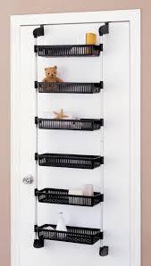 over door shelf basket closet pantry kitchen storage rack