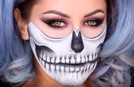 it s easier than you think and you only need some black and white cream face makeup the creepy contact lenses are a wele addition