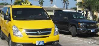 Aruba Taxi Fare Chart Aruba Taxis Caribya