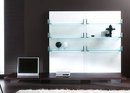 glass and brass wall shelving unit home ideas