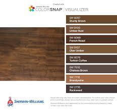Match To My Kitchen Floor Sherwin Williams Sturdy Brown