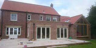 Kitchen Extensions Rear Sun Room And Kitchen Extension In Biggin Dj Poulter Builders