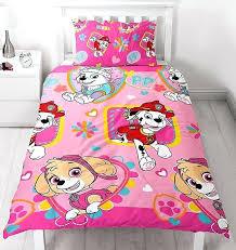 paw patrol skye bedding paw patrol single bedding forever paw patrol skye toddler bedding set pink