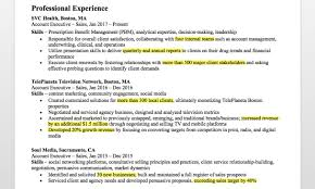 Resume Highlights Examples Account Executive Resume Writing Tips Resume Companion 61