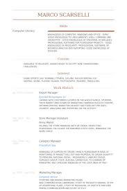 Export Resume Import Export Coordinator Resume