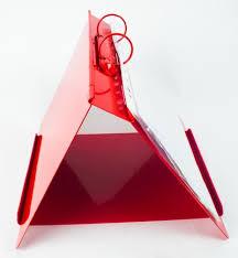 Metal Detectable Ring Binder Flip Chart Stand