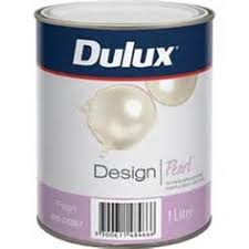 pearl wall paintDulux Design 250ml Satin Sheen Pearl Interior Paint  hollys