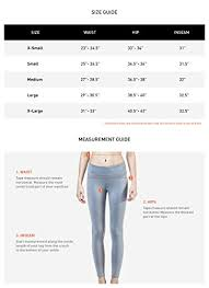 Tesla Clothing Size Chart Amazon Com Clsl Tesla Womens Yoga Capri Leggings W Hidden
