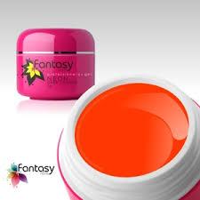 Ráj Nehtů Fantasy Line Barevný Uv Gel Fantasy Neon 5g Dark Orange