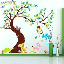 safari wall decals for nursery together with jungle wall decor jungle theme wall decals baby nursery decor animated wall sticker tree wall sticker jungle