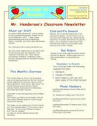 Elementary School Counselor Newsletter Template Certificate
