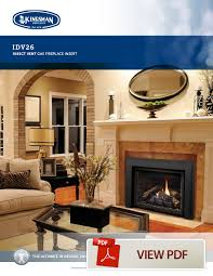 inserts are available as a vented or direct vent appliance and they utilize the existing chimney by using a flexible gas liner s