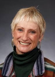 Jeanie Harper, my turn mug Democrat photo by Pat Dollins