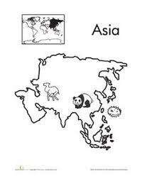 Small Picture Asia World Map Coloring Page Free Printable Coloring Pages For