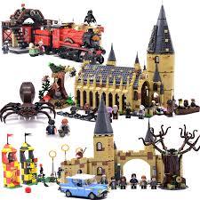 harri potter series grindelwald escape building blocks 148pcs brick educational toys compatible with legoing movie 75951