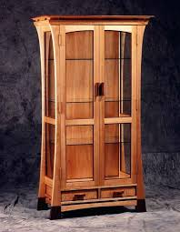 wood curio cabinet curio cabinet a tall and skinny with glass doors panels pertaining to cabinets wood curio cabinet