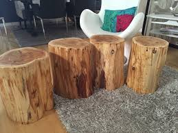 Root Coffee Tables, Root Tables, Log Furniture, LARGE Wood Stump Side  Tables,