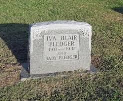Iva Blair Pledger (1911-1931) - Find A Grave Memorial