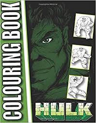 Learn rainbow colors painting with babies. Amazon Com Hulk Colouring Book For Kids And Adults 9798689313528 Hk Aze Books