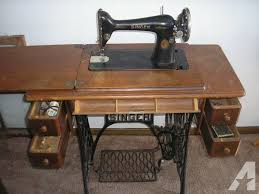 Singer Foot Pedal Sewing Machine For Sale