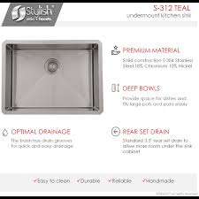 Black Friday Deals On Granite Kitchen Sinks25 Inch Undermount Kitchen Sink