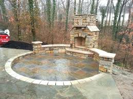 home depot patio blocks blocks home depot patio block edging natural stone seating wall outdoor fireplace