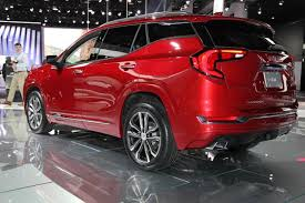 2018 gmc red. contemporary red 2018 gmc terrain detroit auto show featured image large thumb3 with gmc red