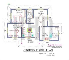 low budget modern 3 bedroom house design floor plan fresh low cost kerala house plans with s beautiful kerala style homes