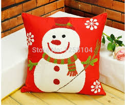 christmas pillows on sale. Simple Pillows Hot Sale Christmas Festival Cushion Cover Santa Claus Pillow Case Snowflake  Gift Home Decorationin From U0026 Garden  Inside Pillows On
