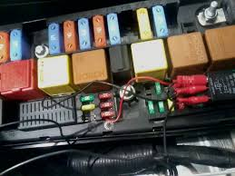 uksaabs • view topic 2007 9 3 wont turn over traction control fuse box looks like this currently the temporary fix any ideas which colour of wire im looking for a break in