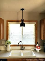 over the sink lighting. Over The Sink Lighting Pendant Light Water On Fire Over The Sink Lighting