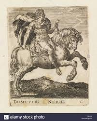 Twelve Caesars Domitius Nero From Twelve Caesars On Horseback Artist Abraham De