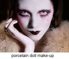 doll porcelain makeup bu con google
