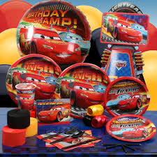 Cars Party Decorations Lightning Mcqueen Birthday Photo Bloguezcom